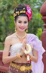 Jeune fille Thaïe