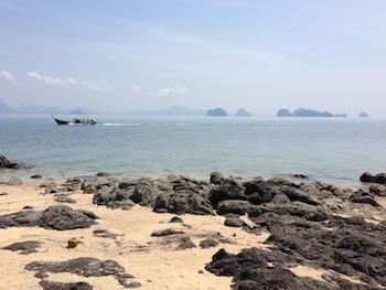 La côte Est vue depuis Yao Beach