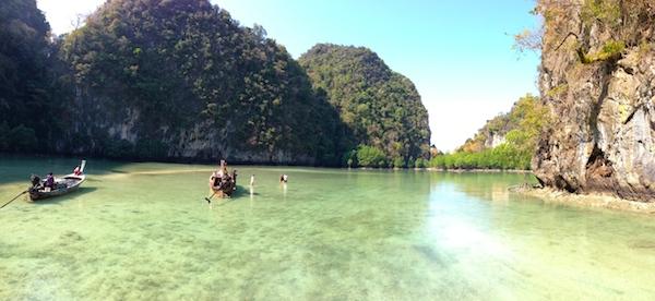 Vue lagon de Koh Hong